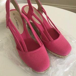 C LABEL Women's Shoes, wedges